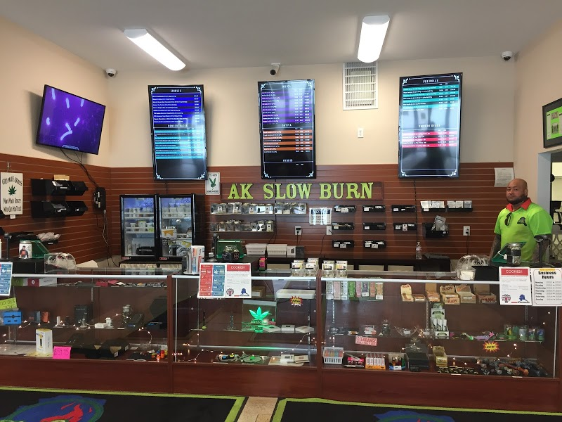AK Slowburn Cannabis Outlet