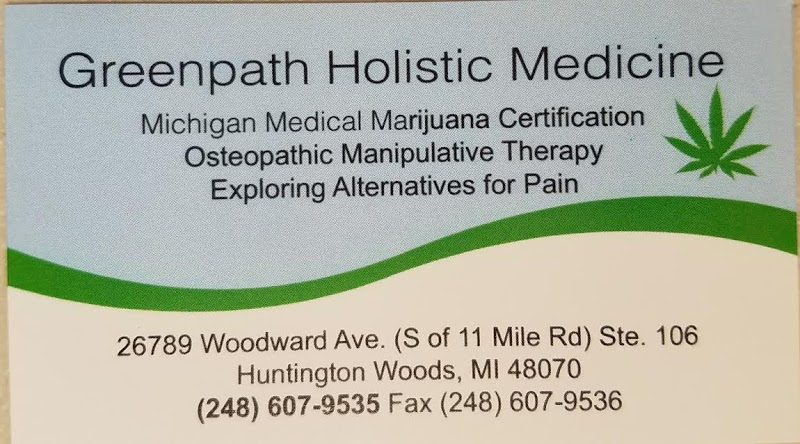 Greenpath Holistic Medicine- Medical Marijuana Card