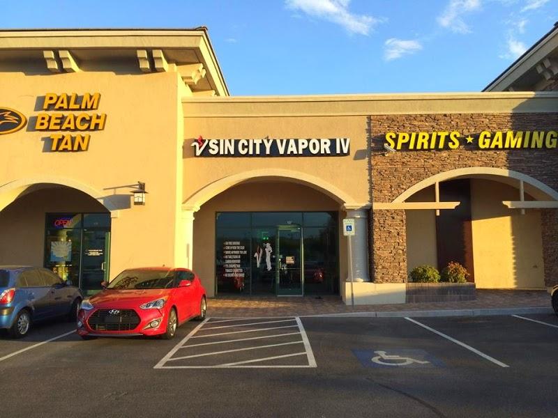 Sin City Vapor IV | Vape Shop in Las Vegas, Nevada