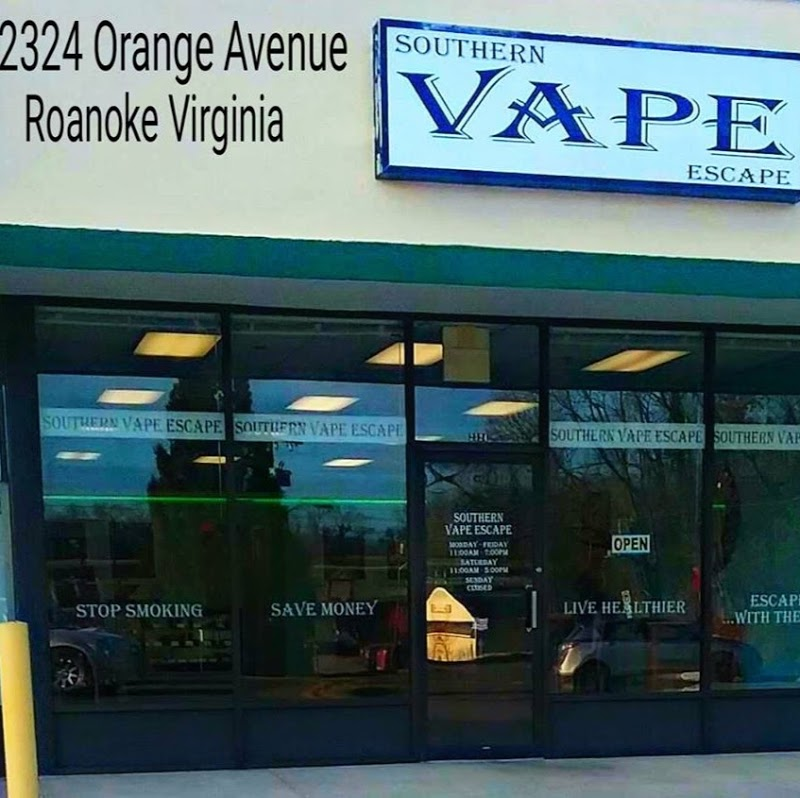 Southern Vape Escape | Vape Shop in Roanoke, Virginia